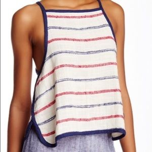 NWT Free People Open Back Tank Top
